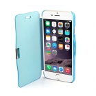 Coque FlipCase pour iPhone 6 bleu