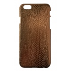 Coque iPhone 6 Croco or dorée ivoire Fashion