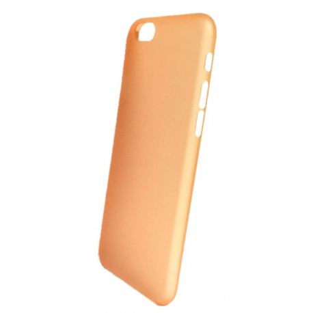 Coque pour iPhone 6 orange modèle Crystal