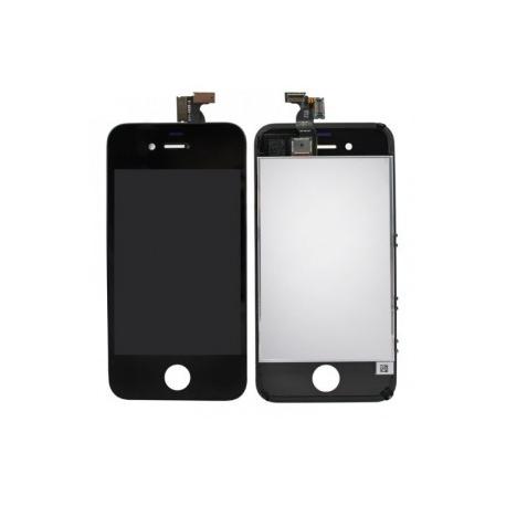 Acheter cran iphone 4 noir kit vitre lcd phone for Photo ecran iphone 4