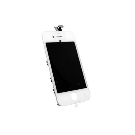 ecran iphone 4s blanc kit vitre et lcd assembl sur ch ssis de fixation. Black Bedroom Furniture Sets. Home Design Ideas