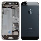 Facade arrière iPhone 5 noir