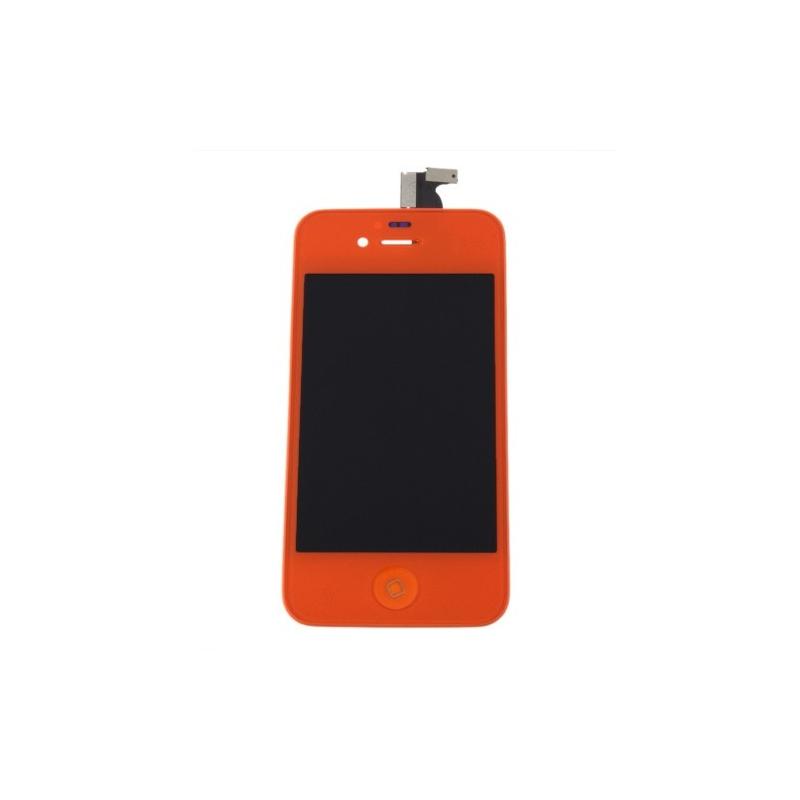 ecran iphone 4s ecran vitre arri re orange iphone 4s. Black Bedroom Furniture Sets. Home Design Ideas