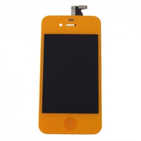 ecran iphone 4s acheter ecran vitre arri re orange iphone 4s. Black Bedroom Furniture Sets. Home Design Ideas