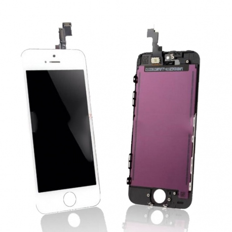 Ecran iPhone 5 blanc