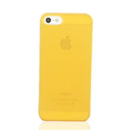 Coque iPhone 5S Crystal Orange