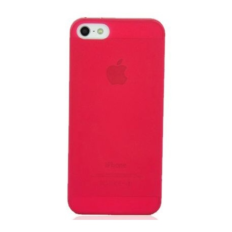 Coque iPhone 5S Crystal rouge