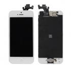 Ecran iPhone 5 blanc + bouton Home + camera