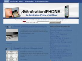 génération iphone blog
