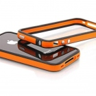 Bumper iPhone 4 et 4S noir et orange