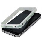 Bumper iPhone 4 et 4S blanc