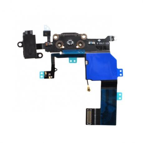 Nappe Dock charge, jack audio iPhone 5C noir