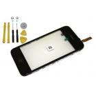 Vitre tactile iPhone 3GS avec adhésif et kit outils
