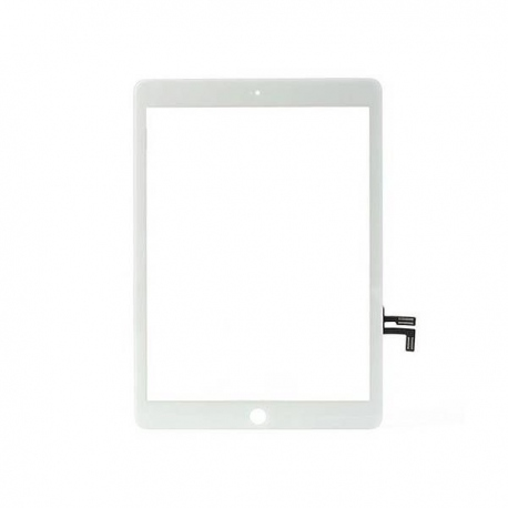 Vitre tactile iPad Air blanc