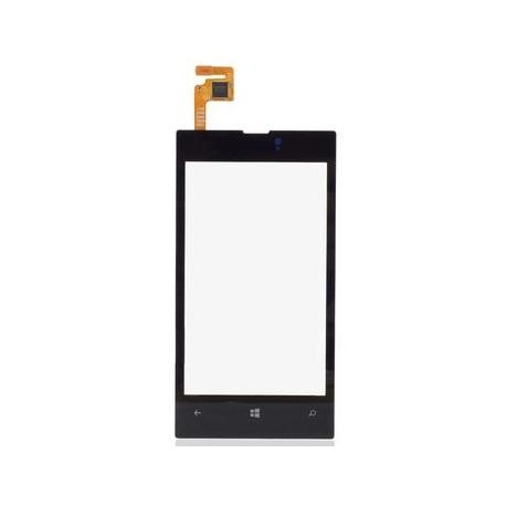 Vitre tactile écran Nokia Lumia 520 noir