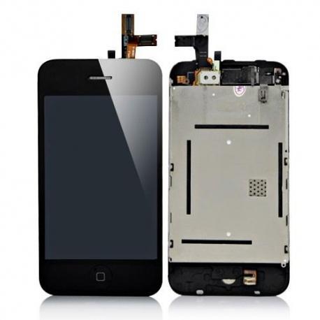 Ecran iPhone 3GS noir