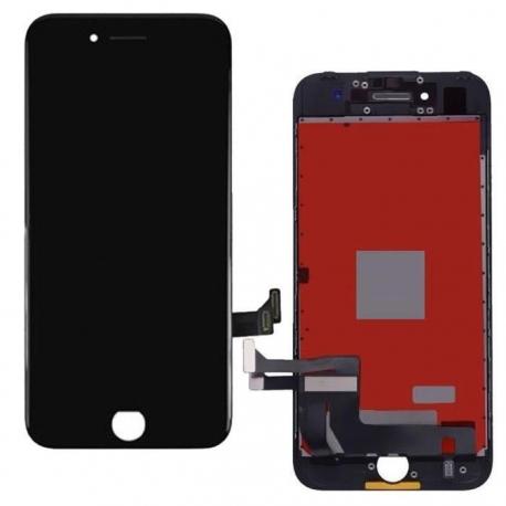 Ecran iPhone 7 noir - LCD et vitre tactile