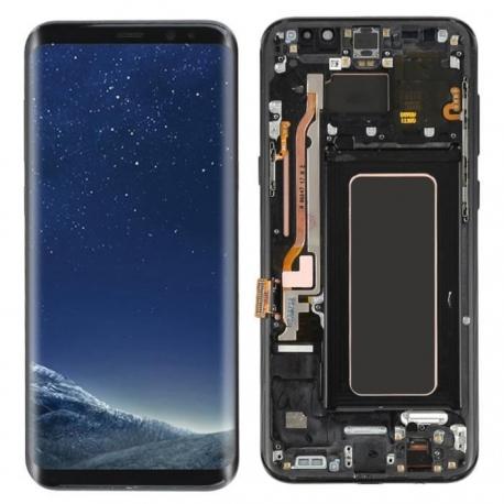 Bloc écran AMOLED Samsung S8 G950F noir
