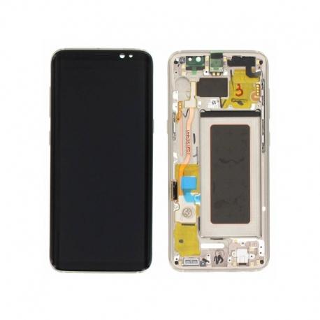 Bloc écran AMOLED Samsung S8 G950F Silver