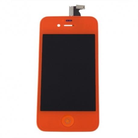 Ecran iPhone 4S orange