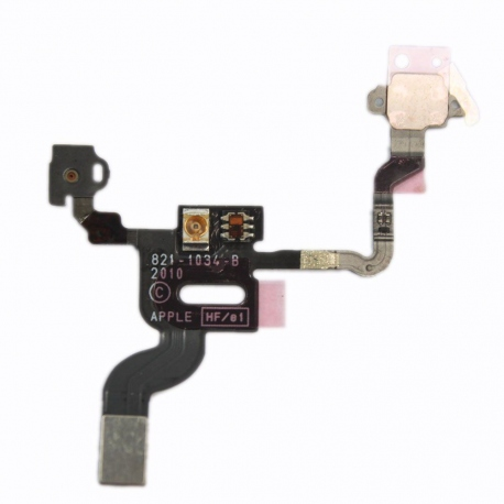 Nappe iPhone 4 bouton power, capteur luminosité, proximité