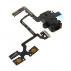 iPhone 4 nappe prise jack audio et volume noir
