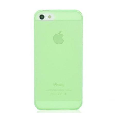 Coque iPhone 5 Crystal Vert