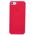 Coque iPhone 5 Crystal rouge