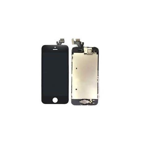 Ecran iPhone 5 noir + bouton Home + camera